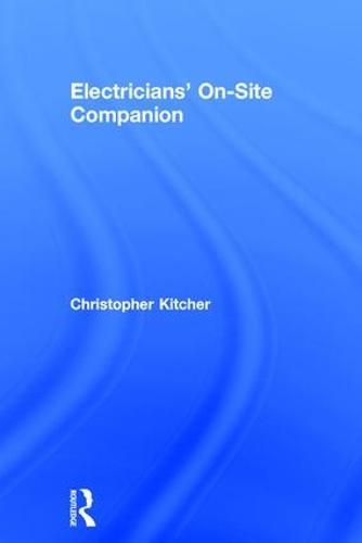 Electricians' On-Site Companion (Hardback)