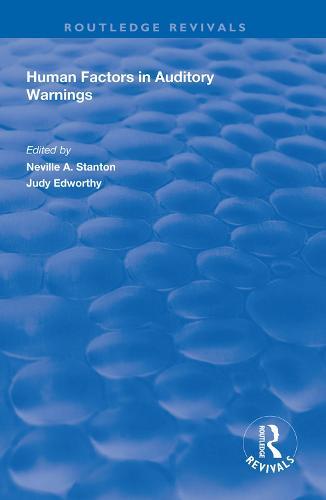 Human Factors in Auditory Warnings (Hardback)