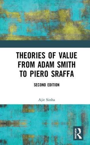 Theories of Value from Adam Smith to Piero Sraffa (Hardback)