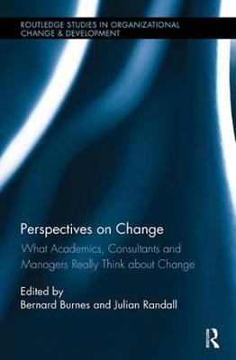 Perspectives on Change: What Academics, Consultants and Managers Really Think About Change - Routledge Studies in Organizational Change & Development (Paperback)