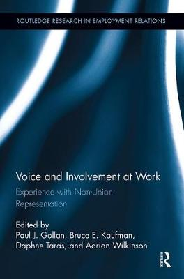 Voice and Involvement at Work: Experience with Non-Union Representation - Routledge Research in Employment Relations (Paperback)