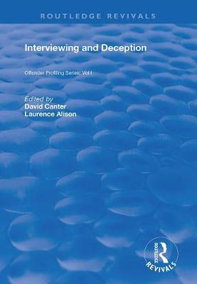 Interviewing and Deception - Routledge Revivals (Hardback)