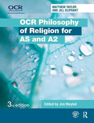 OCR Philosophy of Religion for AS and A2 (Hardback)