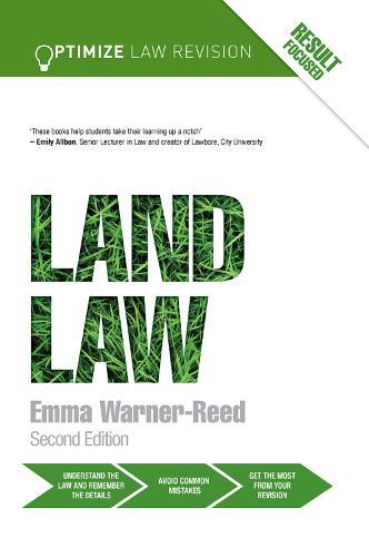 Optimize Land Law - Optimize (Hardback)