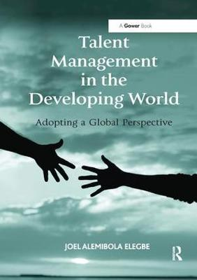 Talent Management in the Developing World: Adopting a Global Perspective (Paperback)
