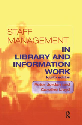 Staff Management in Library and Information Work (Paperback)