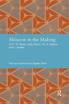 Moscow in the Making - Studies in International Planning History (Paperback)