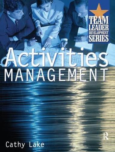 Activities Management (Hardback)