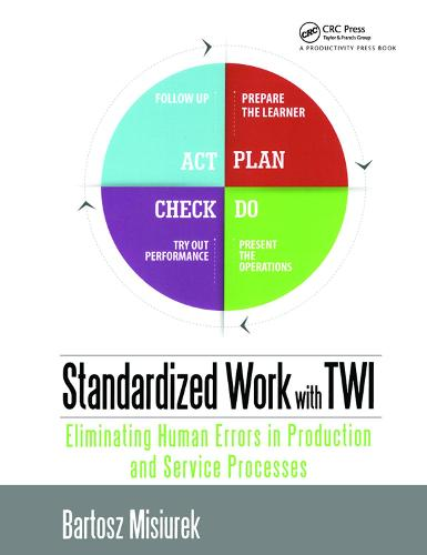 Standardized Work with TWI: Eliminating Human Errors in Production and Service Processes (Hardback)