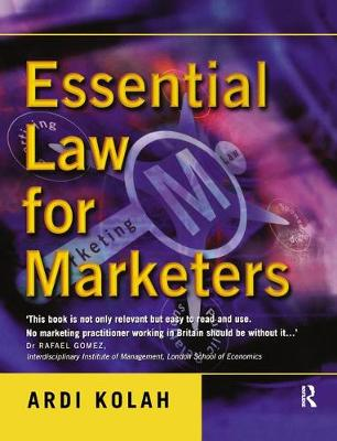Essential Law for Marketers (Hardback)