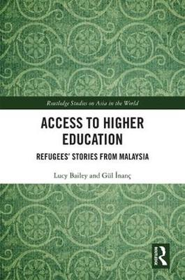 Access to Higher Education: Refugees' Stories from Malaysia (Hardback)