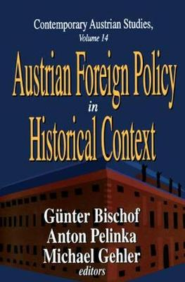 Austrian Foreign Policy in Historical Context (Hardback)