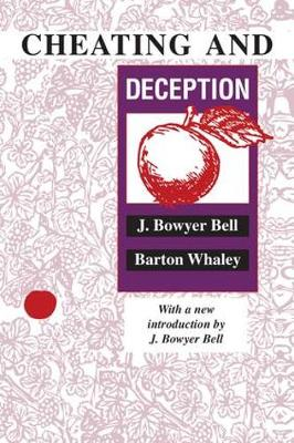 Cheating and Deception (Hardback)