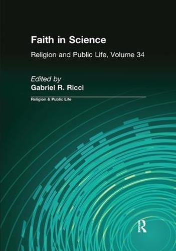 Faith in Science (Hardback)