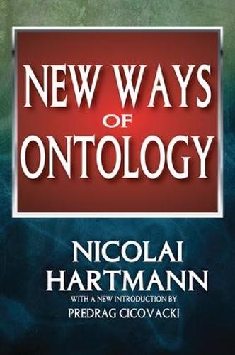 New Ways of Ontology (Hardback)