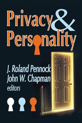 Privacy and Personality (Hardback)