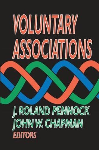 Voluntary Associations (Hardback)