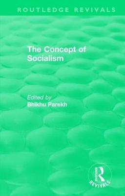: The Concept of Socialism (1975) - Routledge Revivals (Hardback)