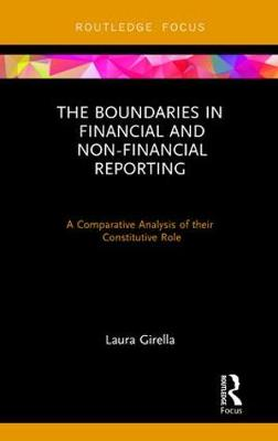 The Boundaries in Financial and Non-Financial Reporting: A Comparative Analysis of their Constitutive Role - Routledge Focus on Accounting and Auditing (Hardback)