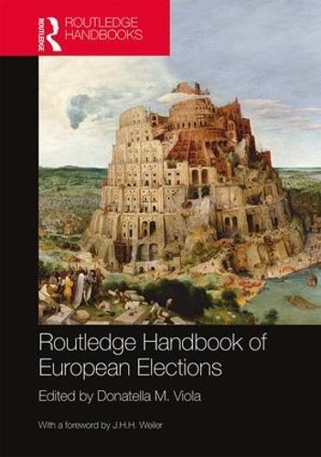 Routledge Handbook of European Elections (Paperback)