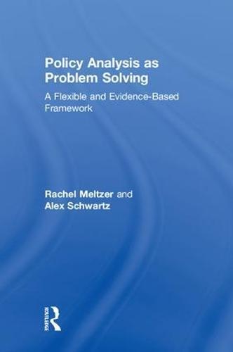 Policy Analysis and Evidence-Based Decision-Making (Hardback)