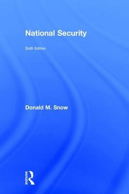 National Security (Hardback)