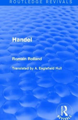 Handel - Routledge Revivals (Hardback)