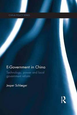 E-Government in China: Technology, Power and Local Government Reform - China Policy Series (Paperback)