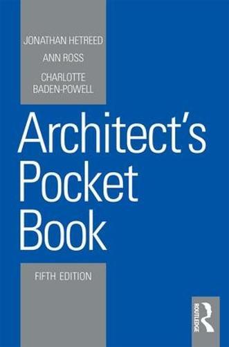 Architect's Pocket Book - Routledge Pocket Books (Paperback)