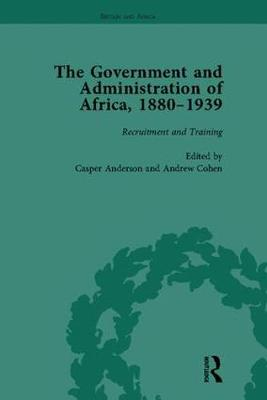 The Government and Administration of Africa, 1880-1939 - Britain and Africa (Paperback)