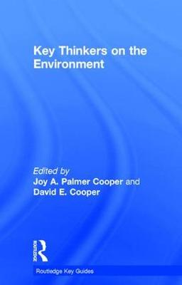 Key Thinkers on the Environment - Routledge Key Guides (Hardback)