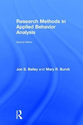 Research Methods in Applied Behavior Analysis (Hardback)