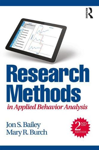 Research Methods in Applied Behavior Analysis (Paperback)