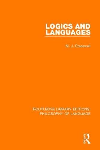 Logics and Languages (Paperback)