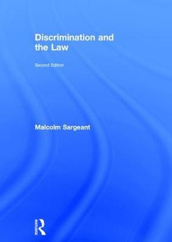 Discrimination and the Law 2e (Hardback)