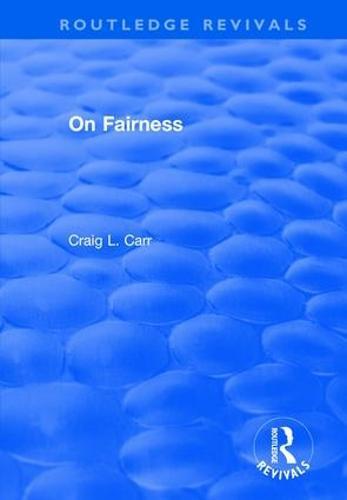 On Fairness (Hardback)