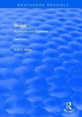 Drugs: Synonyms and Properties (Paperback)