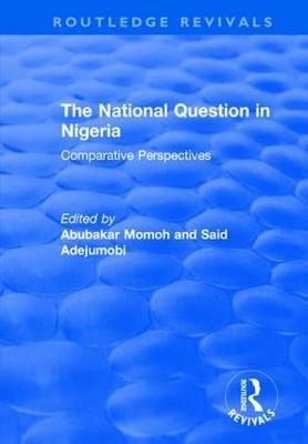 The National Question in Nigeria: Comparative Perspectives (Paperback)