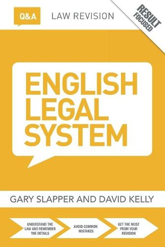 Q&A English Legal System - Questions and Answers (Paperback)