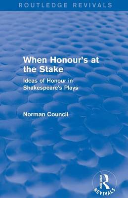 When Honour's at the Stake (Paperback)