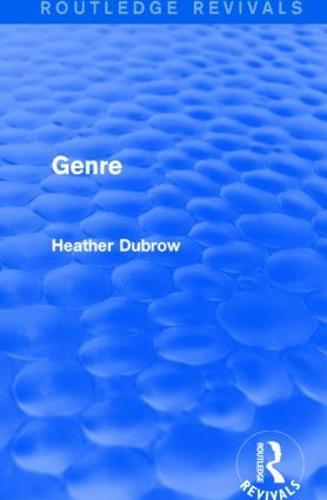 Genre - Routledge Revivals (Hardback)