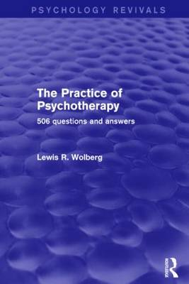 The Practice of Psychotherapy: 506 Questions and Answers (Paperback)
