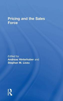 Pricing and the Sales Force (Hardback)