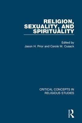 Religion, Sexuality, and Spirituality (Hardback)