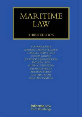 Maritime Law - Maritime and Transport Law Library (Hardback)