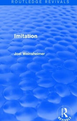 Imitation - Routledge Revivals (Paperback)
