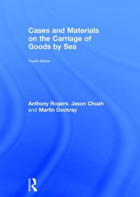 Cases and Materials on the Carriage of Goods by Sea (Hardback)