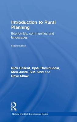 Introduction to Rural Planning: Economies, Communities and Landscapes - Natural and Built Environment Series (Hardback)