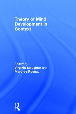 Theory of Mind Development in Context (Hardback)