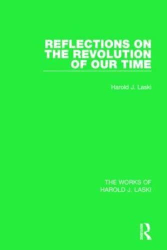 Reflections on the Revolution of Our Time (Paperback)